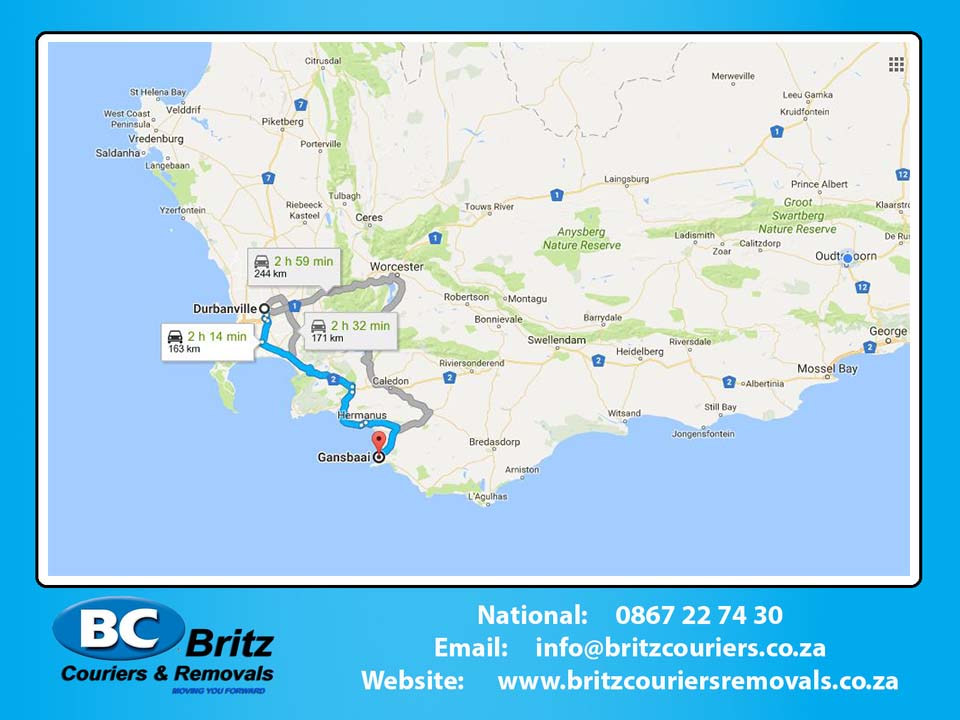 Furniture Removals Durbanville to Gansbaai
